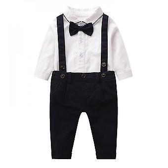 """בייבי בנים ג'נטלמן 2pcs חליפות תלבושות (66 ס""""מ)"""
