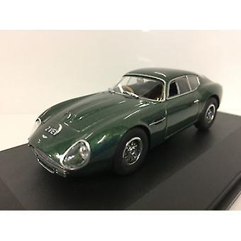Aston Martin DB4GT Zagato 2 VEV Green Metallic 1:43 Oxford AMZ001