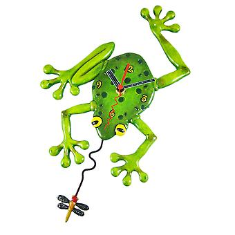Allen Designs `Frog Fly` Pendulum Wall Clock