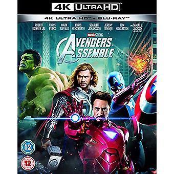 Avengers assembleren 4K UHD Blu-ray
