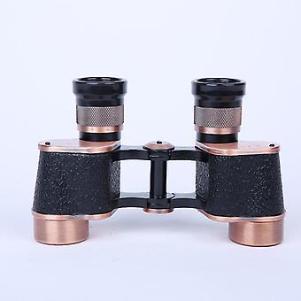6x24 binoculars high-powered high-definition coordinate ranging telescope portable telescope,(black)