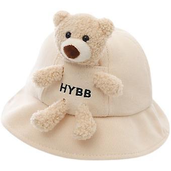 Cartoon Bear Casual Fisherman Hat