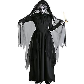 Venalisa Female Ghost Witch Costume Zombie Vampire Bride Grim Reaper Halloween Costume