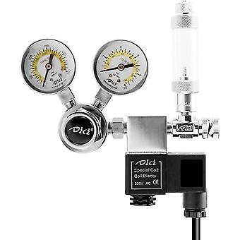 Built-in Digital Tuner Thermometer Hygrometer With External Probe For Aquarium Poultry Recorder (black)