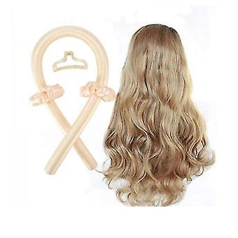 Curling Wand Sports Hair Band No Heat Curls Silk Ribbon Heatless Hair