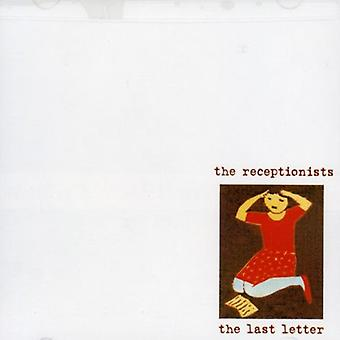 Receptionists - Last Letter [CD] USA import