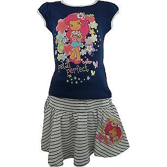 Meisjes CHARLOTTE aux FRAISES Strawberry Shortcake T-Shirt & rok Se