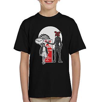 Stranger Ride Themepark Things Kid's T-Shirt