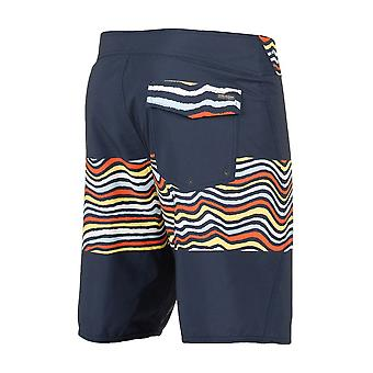 Volcom Macaw mod mid lengte Boardshorts in Navy