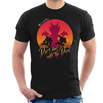 Cuphead Deal met de duivel mannen T-Shirt