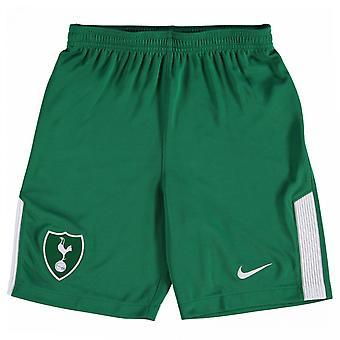 2017-2018 Tottenham Away Nike goleiro Shorts (verde) - crianças