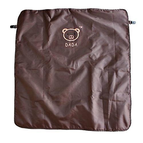 Buggy Blanket / Nursing Cover brown