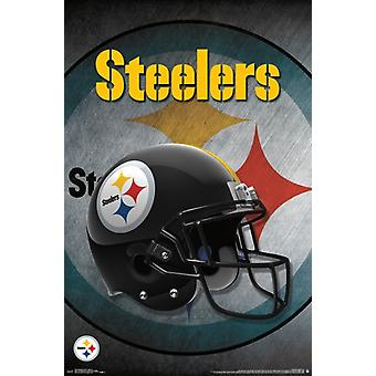 Pittsburgh Steelers - Helm 16 Poster drucken