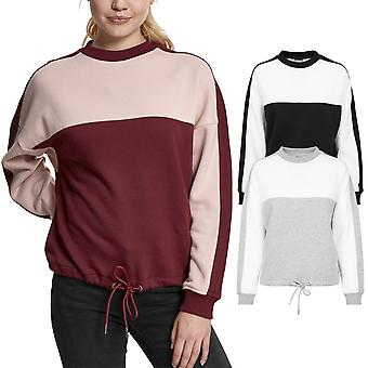 Urban classics ladies - oversized 2-TONE Sweatshirt sweater