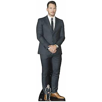 Chris Pratt Lifesize karton gestanst / Standee / Standup