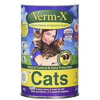 Verm-X Cat behandler Premium Crunchies 60g