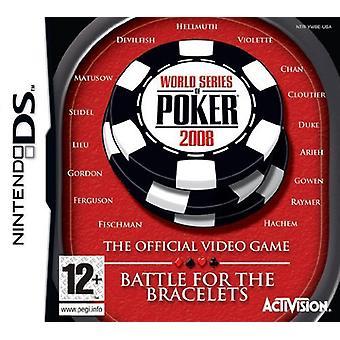 World Series of Poker 2008 Battle of the Bracelets (Nintendo DS) - Neu
