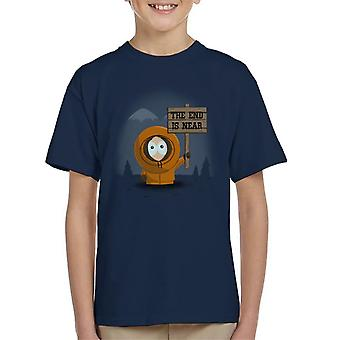 South Park Kenny The End Is Near Kid's T-Shirt