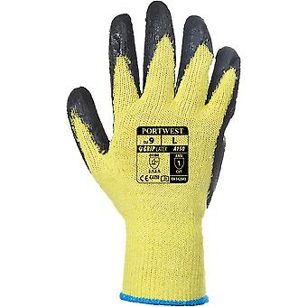 Portwest Mens Fortis cómodo agarre Natural Grip guantes