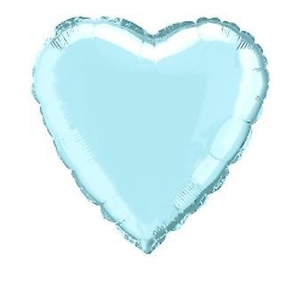 Folie Ballon Hart Solid Metallic Blauw van de Baby