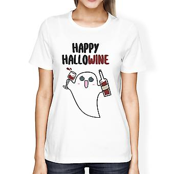 Happy Hallowine Graphic T-Shirt For Women Gifts For Wine Lovers