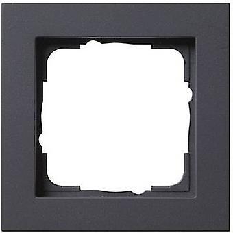 GIRA 1x Frame E2, Standard 55, System 55 Anthracite 0211 23