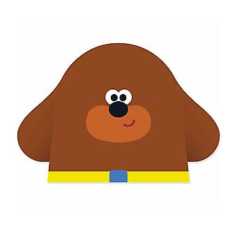 Duggee from Hey Duggee Single 2D Card Party Fancy Dress Mask