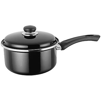 Judge Induction, Black 20cm Saucepan, 3 Litre