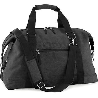 Utendørs ser helgen 30 liter Vintage lerret Duffle Bag