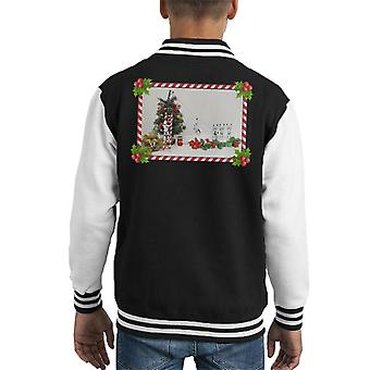 Original Stormtrooper Christmas Tree Zuckerstange Folie Kid Varsity Jacket
