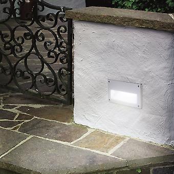 EGLO Zimba exteriör låg nivå infällda Brick vägg ljus