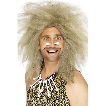 Долго блондинка вьющиеся парик, парик пещерный фантазии платье аксессуар