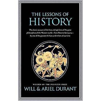 Le lezioni della storia di Will Durant - 9781439149959 libro