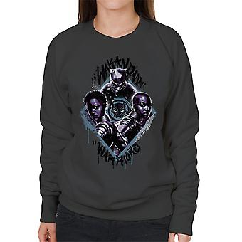 Marvel Black Panther Nakia And Okoye Wakanda Warriors Women's Sweatshirt