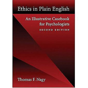 Etik på ren svenska: ett belysande Casebook för psykologer