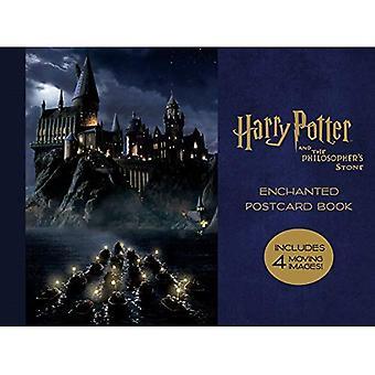 Harry Potter i kamień filozoficzny Zaczarowane pocztówka książki