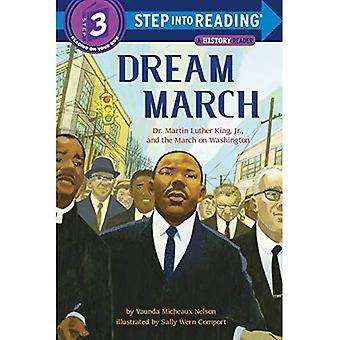 Março de sonho: Martin Luther King, Jr. e a marcha sobre Washington (entra leitura)