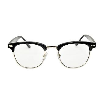 Glasses Mr 50's Blk Clr - 15313