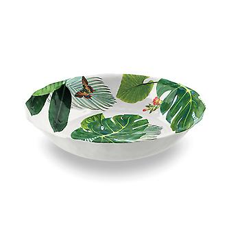 Epicurean Amazon Floral Melamine Large Serve Bowl