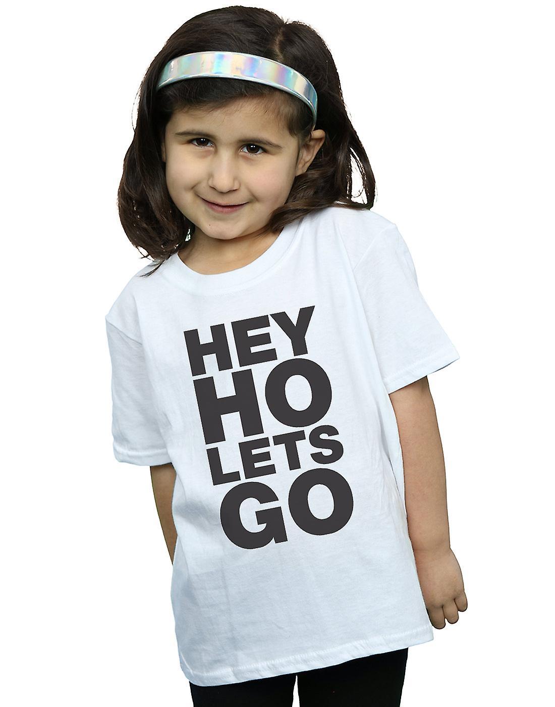 Ramones Girls Hey Ho Let's Go T-Shirt