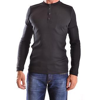 Dondup Ezbc051030 Men's Black Cotton Sweater