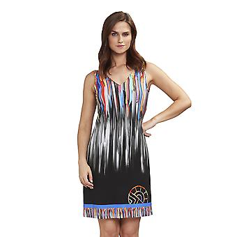 Féraud 3195108-10005 Women's Beach Multicolour Beach Dress