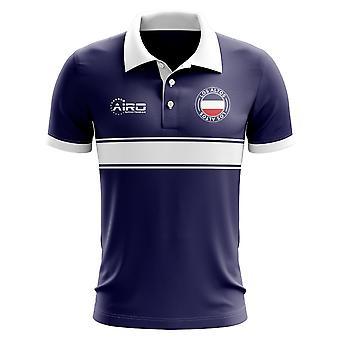 Los Altos Concept Stripe poloshirt (Navy)