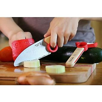 OPINEL Le Petit Chef finger guard kitchen knife and peeler set
