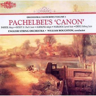 Engelska stråkorkester - Pachelbel's 'Canon' [CD] USA import