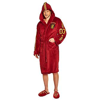 Harry Potter Quidditch Potter Dressing Gown  - ONE SIZE