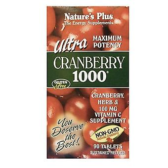 Nature's Plus Ultra Cranberry 1000mg Sustained Release Tabs 90 (3953)