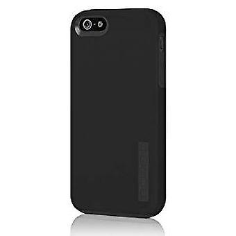 Incipio DualPro Shockproof Case for iPhone 5/5S/SE - Black/Black