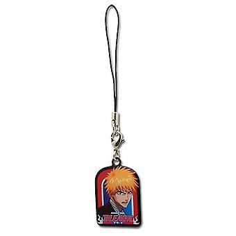 Cell Phone Charm - Bleach - New Ichigo Potrait Toys Gifts Anime Licensed ge8253