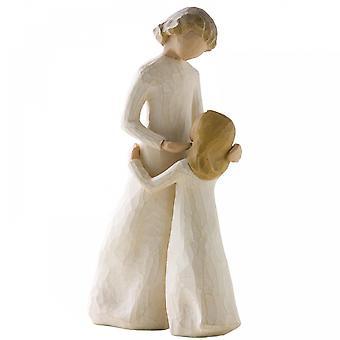 Willow Tree mor og datter figur